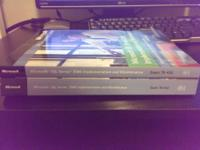 Selling the 2 books required for NETW243. These are the