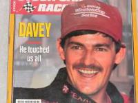 I HAVE A DAVEY ALLISON MAGAZINE FOR SALE 1996 FOR