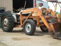 This David Brown diesel engine tractor starts & runs