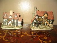 This is a handmade and handpainted cottage, titled The