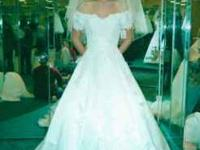 I have a Davids Bridal wedding dress for sell. It comes