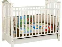 Davinci Crib Roxanne in Antique White, 3 in 1