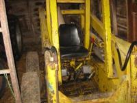 Great Deal on a Davis 400 Skid loader!!!!! Runs!! Has a
