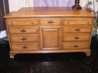 Davis Cabinet Dresser And Mirror
