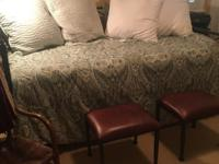 Day bed for sale with mattresses and bedding. Includes