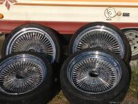 Dayton 100 Spoke Wire Wheel Rims- two 20 and two 18