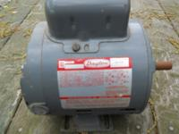 Dayton Capacitor Electric Start Motor - electric 1/2 hp