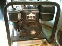 Dayton 3ZC12 Generator W/ 8HP Briggs Everything Works