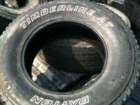 Dayton Timberline AT 265/70r17 Tires for sale. $125 for