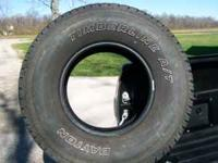 I have 4 Dayton Timberline AT II 31x10.5 R15 tires for