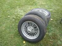 225/60r16 4 wheels and tires call Tom  Location: fenton
