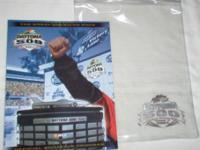 DAYTONA 500 2004 Program and the See-Thru Embossed