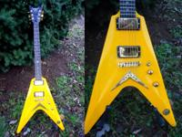 DBZ Cavallo Flying V Right Handed Lamborghini Yellow W