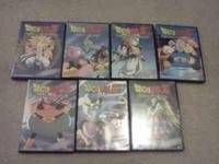 there are 7 movies here all from majin buu series every