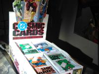 This is a box of 35 unopened trading card packets with