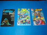 42 Comics,From 1992 and up comic books. Batman-1 Book,