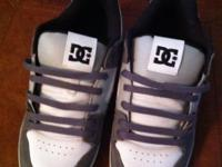 DC men's size 10 skate shoes... Worn/tried on 1 time...