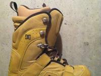 Tan DC Snowboarding Boots.   Only used a few times. In