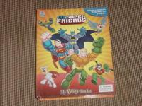 Busy Book interactive play kit, DC Super Friends,