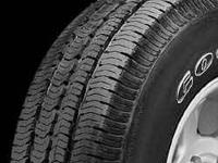 5 Brand new JEEP tires goodyear wrangler st 225/75/16