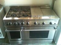 NATURAL GAS PROFESSIONAL STAINLESS STEEL RANGE. 4