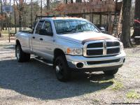 2004 DODGE DUALLY 4x4, 6 speed MANUAL TRANS...New