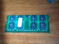 2GB DDR2 SODIMM Laptop RAM (Memory Master) Asking $30.