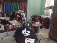 "For Sale: ""ddrum D120B"" 5-piece drum set purchased last"