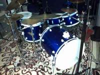 Ddrum diablo kit . Perfect condition except one floor
