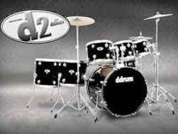 ddrum D2 Complete Beginners Drum Set Features: Basswood