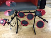 DDRUM SET for sale 150.00 Call  Local pickup only This