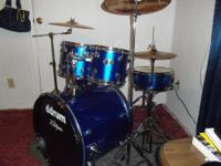 I have a 5 Piece, police blue, Ddrumm Kit, with ten,