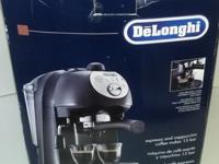 De'Longhi Cappuccino, Coffee & Espresso Maker 15 Bar -