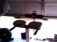 Selling a dead body lift bench. gym quality in real