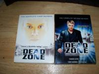 Dead Zone s1&2  $10.00 for any 1 season or Both seasons