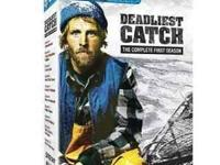 Deadliest Catch dvd box set of season 1 and a seperate
