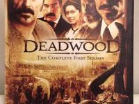 This first-season set of Deadwood is in near-mint