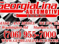*@ GeorgiaLina Automotive we offer quality service for
