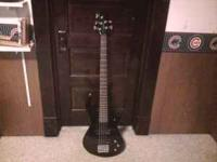 I have for sale a dean five string bass and amp asking
