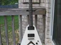 Mid-2006 Dean '79 Limited V, with neck-through-body