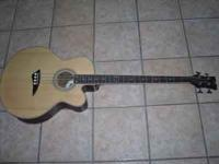 I am selling my acoustic electric Dean bass. I bought