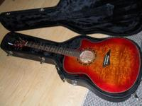I am offering my Dean acoustic/electric guitar model