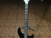 Dean bass I utilized this bass when I was playing with