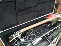 Dean Bass Guitar in case. Come take a look! We have a