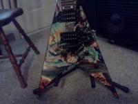 DEAN FLYING V UNITED ABOMINATIONS,,,AWESOME GUITAR MINT