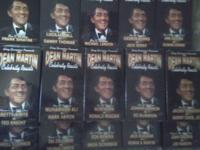 Dean Martin celebrity roasts! On VHS !! Includes 15