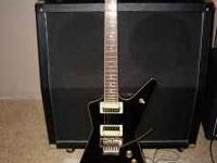 HERES A DEAN MY DIME BAG DARREL GUITAR HAS A SET IN
