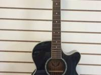 Dean Employee E CBK Acoustic Electric Priced at $199.99