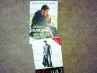 dear john and the manual book both in great shape $15