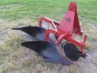 "Dearborn 2 bottom 14"" 3 Pt plows in good condition,"